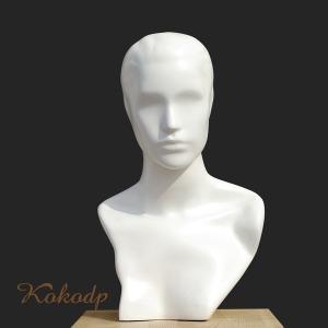 남성용 남자 두상 얼굴 머리 가발 모자 마네킹 마네킨