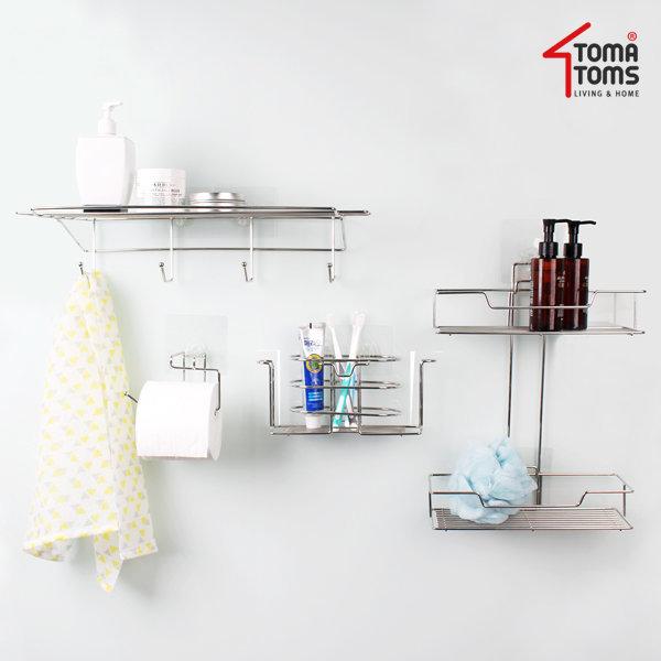 슈퍼스틱 욕실선반/흡착선반 욕실용품