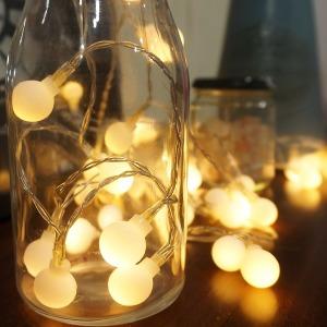전구 앵두캡(대/소) 10P/전구캡/크리스마스 소품 LED