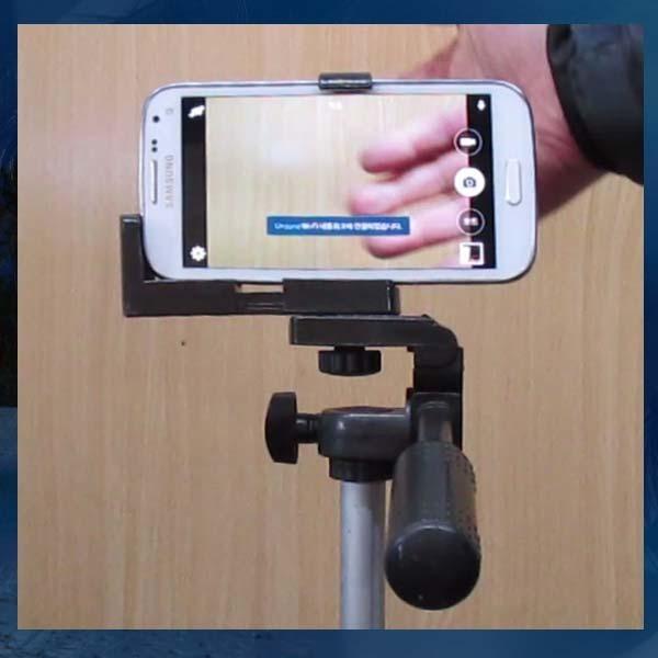 B139/스마트폰거치대/삼각대사용가능/스마트폰홀더