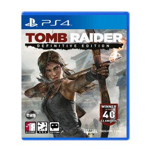 PS4 툼레이더 디피니티브 에디션 한글판 새제품