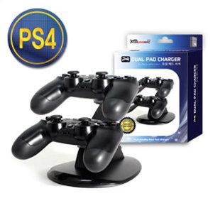 PS4 듀얼쇼크4 듀얼 패드 차저 / 컨트롤러 충전거치대