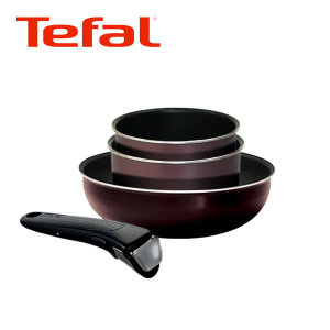 (현대Hmall)테팔 매직핸즈 멀티팬/냄비 4종세트(w26+pot16+pot18+handle)