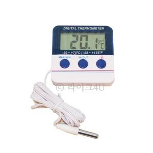 디지털 냉장고온도계 LK-144/실내 실외온도측정/알람