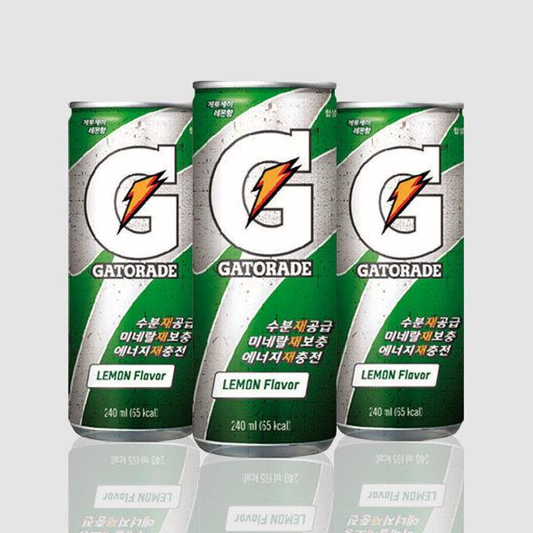 게토레이 레몬 240ml 스포츠음료 이온음료 파워에이드