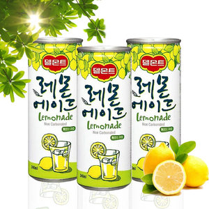 델몬트 레몬에이드 240mlx30캔 레모네이드 에이드음료