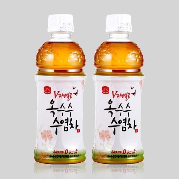 [광동] 광동 V라인옥수수수염차 340ml 음료수