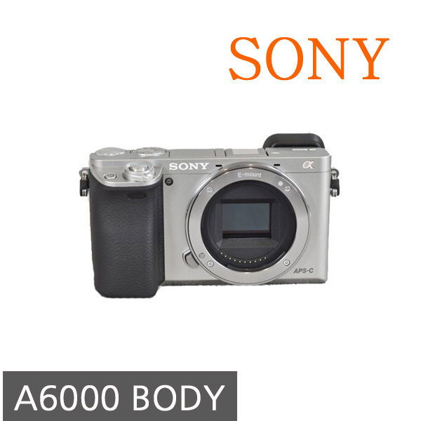 BS 소니정품 A6000 body 바디캡포함