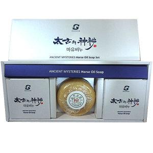 제주 태고의신비 마유비누 1세트(3개입) / 마유크림