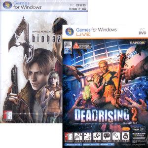 (PC-DVD) 바이오 하자드 4 + 데드라이징 2 합본
