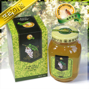 (현대Hmall) 백화농원 한국양봉협회 인증 아카시아꿀 2.4kg