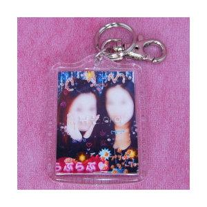 열쇠고리(민무늬)(대) /핸드폰고리/스티커사진/액자