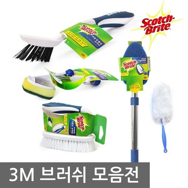 3M 크린스틱 변기솔 청소브러쉬 유리닦이 욕실청소