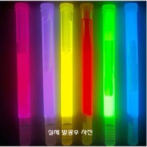 국산야광봉 6인치(15cm x 1cm)(100개)_개당 400원