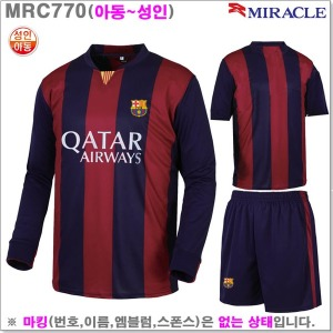 (MRC770) 성인용 바르셀로나유니폼_라인몰축구복