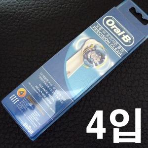 브라운 오랄비- 전동칫솔모 4입(EB17) 개별신포장