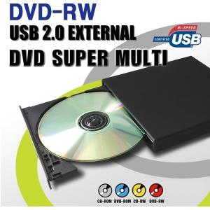 노트북 PC용 USB2.0 외장형 DVD-RW /DVD멀티