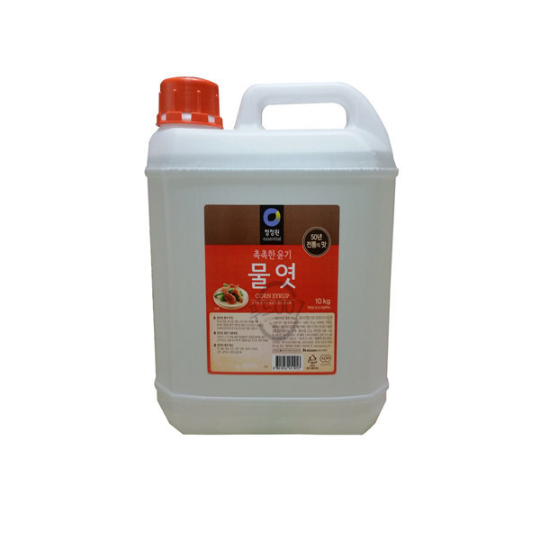 청정원 물엿 10kg   2개(20kg) /무료배송