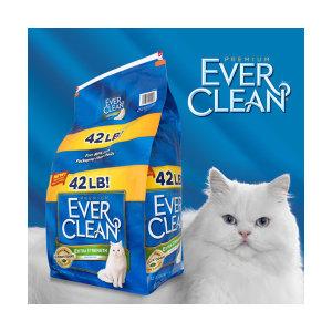 에버크린 ES UN 고양이모래 19kg 총알배송