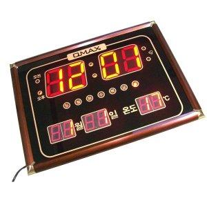 디지탈 중대형 캘린더 시계-전기 발광 LED 전자