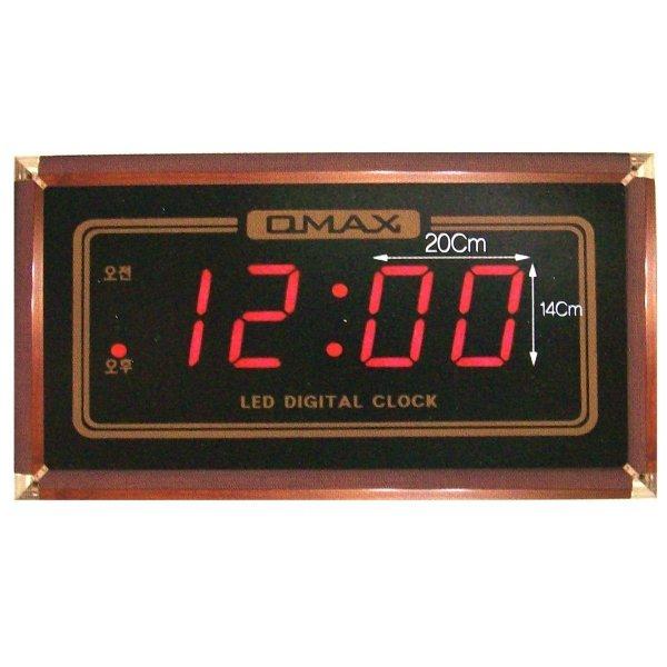 국산 디지탈 초대형 시분 시계-전기 발광 LED 전자 벽