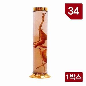 용천자연유리 담금주병 수동 34호/인삼주병/과실주병