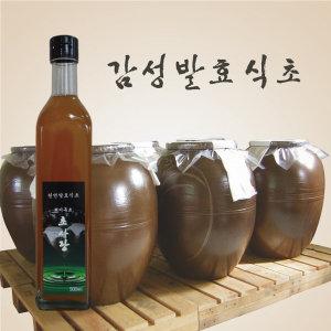 흑초 500ml 초사랑 현미흑초 천연발효식초 현미식초