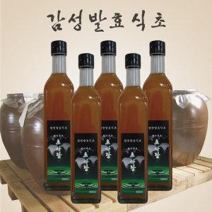 현미흑초 500ml 5병 초사랑 현미식초 흑초 농장직영