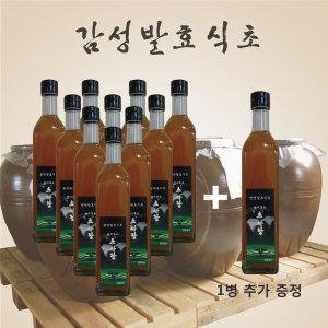 현미흑초 500ml 11병 초사랑 현미식초 흑초 1병더