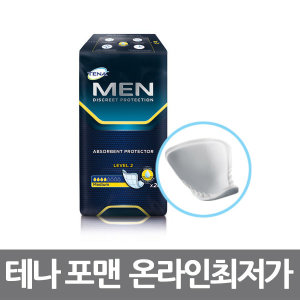 성인용기저귀 테나 남성용 포맨(20매x6팩)