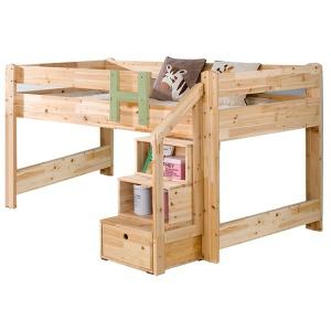 매직벙커침대/원목이층침대/30mm원목/아동침대/통깔판