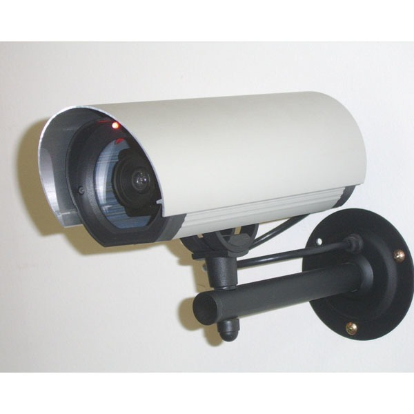국산 알루미늄 모형CCTV 모조 가짜 방범용 감시카메라