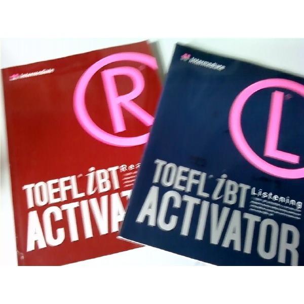 TOEFL iBT ACTIVATOR Intermediate :Listening + Reading (두권/하단참조)