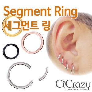 세그먼트링 /Segment ring/ 세그먼트 피어싱 / 고품질