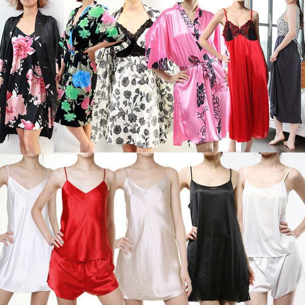 슬립/실크가운/섹시속옷/속치마/홈웨어/원피스잠옷