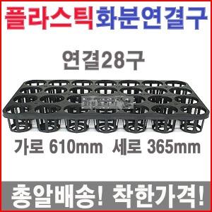 연결28구(25개)플라스틱/육묘/이색포트/농장/모종화분