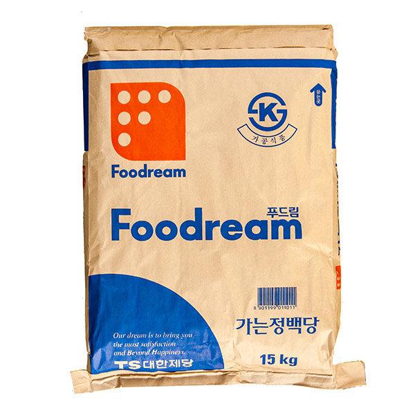 푸드림 가는 정백당 하얀설탕 15kg 대한제당 백설탕