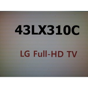 43LX310C (스탠드형) 43인치 Full HD LED TV