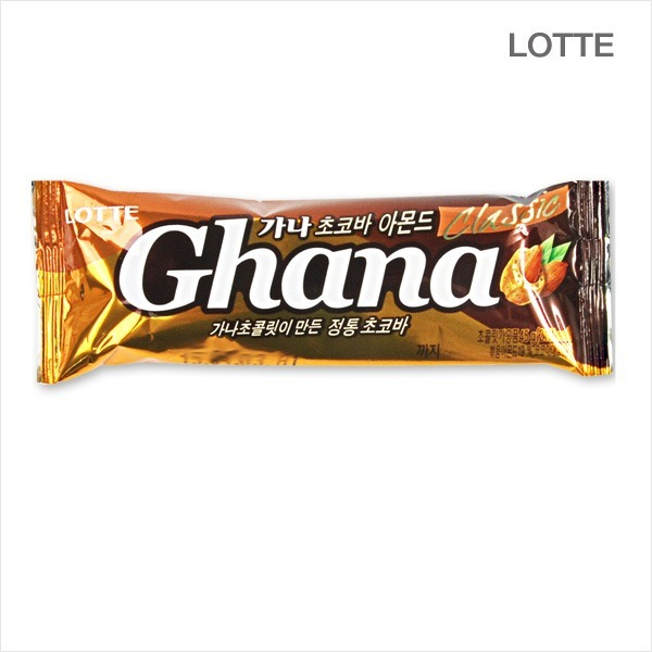 롯데 가나초코바 아몬드 45gx12개 초콜렛/초콜릿