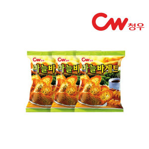 (neo) 청우 마늘바게뜨 40gx3개/과자/간식/마늘빵