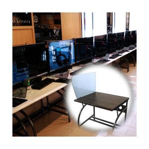 로엠가구 pc책상 학원 컴퓨터철재 콜센터 PC방