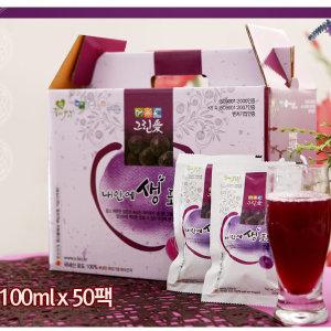유기농 포도즙(100mlx60팩)/SB 건강음료 포도쥬스