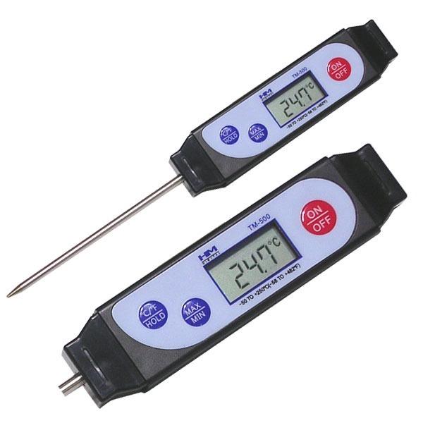 [홈누리넷] 디지털 온도계 TM-500 기미상궁 탐침봉 수온 -50 +250
