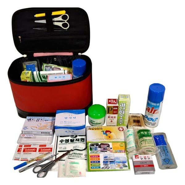 차량용구급함 구급상자 구급함세트 약상자 국산제품