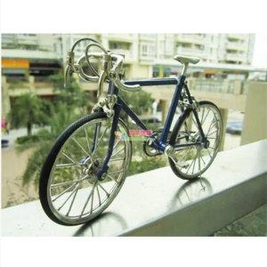 미니자전거 모델 아연합금 레이싱자전거 전시용자전거