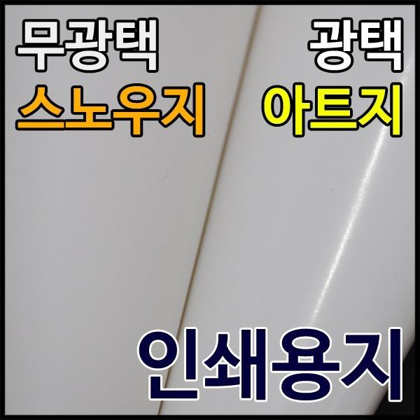 종이백화점/아트지/스노우지/인쇄용지/전단지/아드지