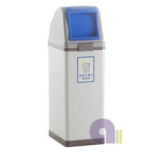 버드형스틸휴지통/100L/1분류/스틸분리수거함