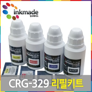 캐논 CRG-329 리필키트 LBP7016C LBP7018C 칩포함