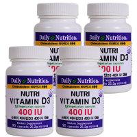 90X4 뉴트리 미국 천연 비타민D 아연 마그네슘 영양제