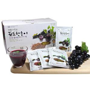경북대학교포도마을 포도한송이 포도즙100ml 30팩